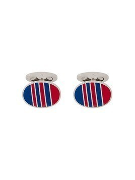 Etro signature colour cufflinks - Red