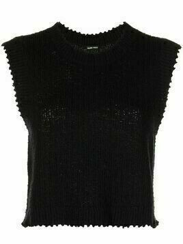 Rachel Comey Relent cotton knitted top - Black