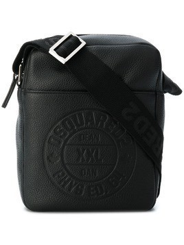 Dsquared2 shoulder camera bag - Black