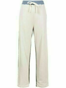 Sofie D'hoore colour-block cotton track pants - Neutrals