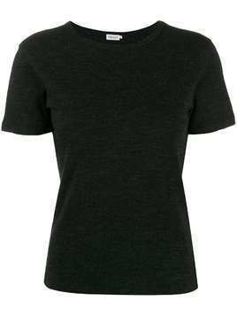 Filippa-K fine knit T-shirt - Grey