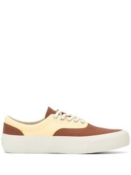 YMC two-tone sneakers - Brown