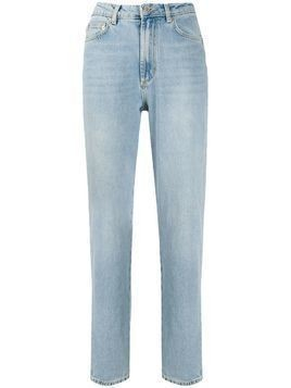 Fiorucci Tara Angels patch jeans - Blue