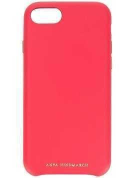 Anya Hindmarch Pimp Your Phone iPhone 8 case - Pink