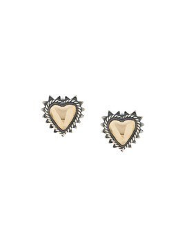 Ugo Cacciatori heart earrings - Silver