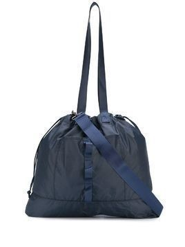 YMC drawstring tote bag - Blue