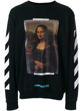 Off-White - Mona Lisa print sweatshirt - Herren - Cotton - XS - Black