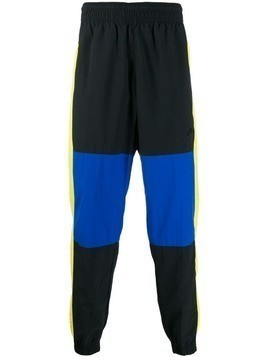 Nike colour block track pants - Black
