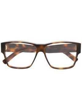 Christian Roth tortoise-shell square glasses - Brown