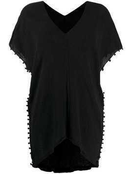 Caravana v-neck top - Black