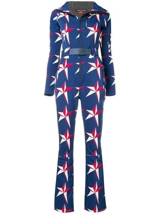 Perfect Moment Star Suit jumpsuit - Blue