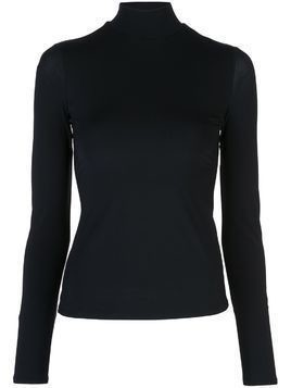 The Row turtleneck long sleeve top - Black