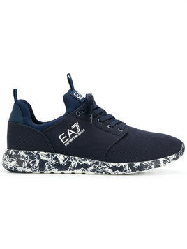 Ea7 Emporio Armani low top sneakers - Blue