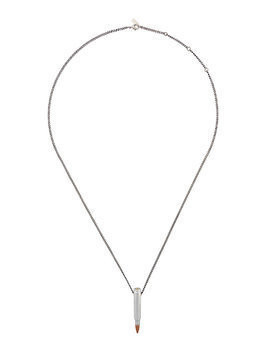 Hues Bullet pendant necklace - Metallic
