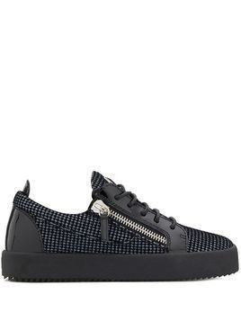 Giuseppe Zanotti Tejay low top trainers - Black