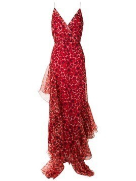 Isolda Amabile long dress - Red
