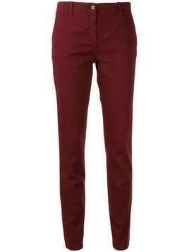 Aspesi slim fit trousers - Red