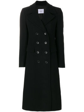 Dondup - Pamily double-breasted coat - Damen - Acetate/Viscose/Cashmere/Virgin Wool - 38 - Black