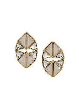 Camila Klein triangles earrings - Gold