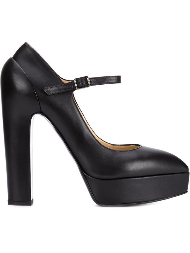 Vera Wang platform pumps - Black