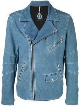 Guild Prime zipped fitted jacket - Blue