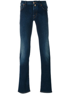 Jacob Cohen - slim-fit jeans - Herren - Cotton/Polyester/Spandex/Elastane - 30 - Blue