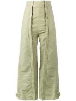 Chloé high-waisted trousers - Green