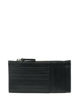 Brioni multi-pocket leather cardholder - Black