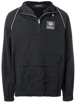 Misbhv black lightweight windbreaker