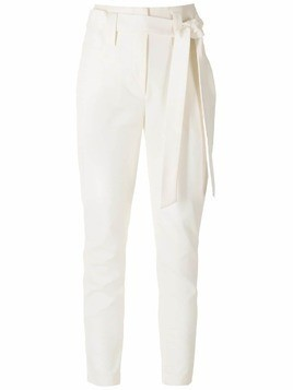 Martha Medeiros high rise skinny trousers - White