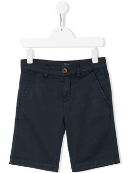 Harmont & Blaine Junior slim-fit chino shorts - Blue