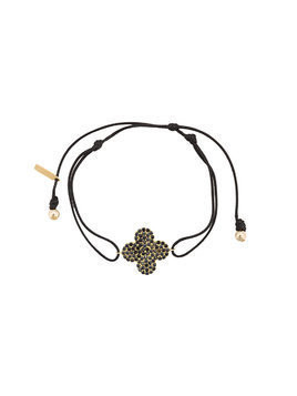 Hues cross pendant bracelet - Black