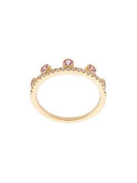 Khai Khai Crown ring - Metallic