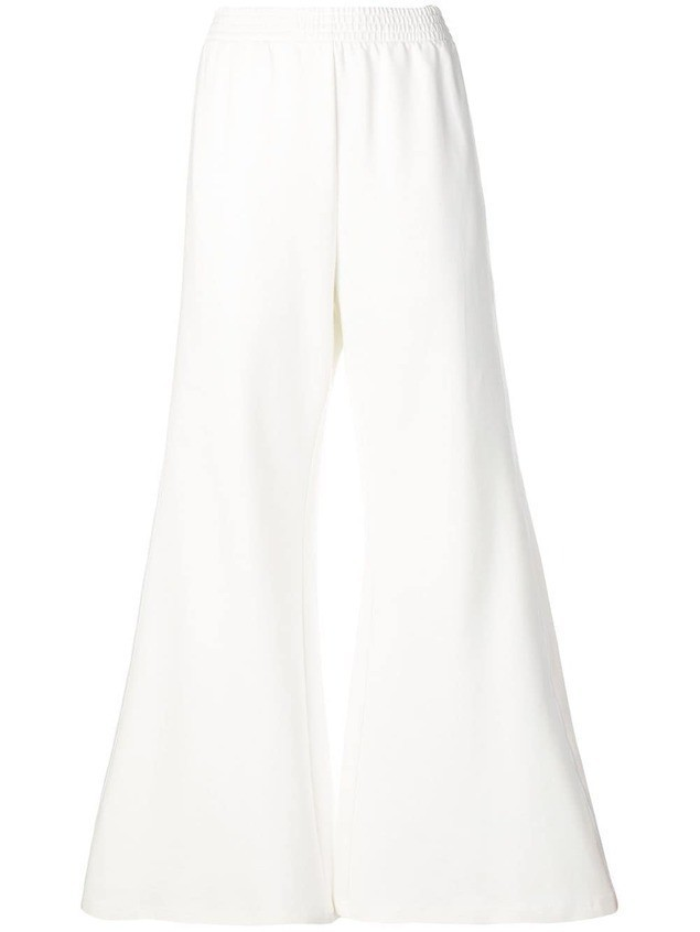 Mm6 Maison Margiela flared trousers - White