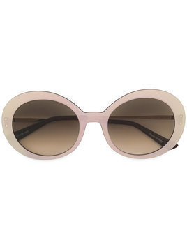 Christian Roth round frames sunglasses - Brown