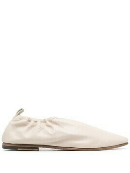Silvano Sassetti elasticated ankle leather loafers - Neutrals