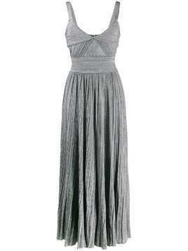 Antonino Valenti plissé knitted dress - Grey