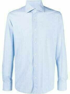 Corneliani long-sleeved shirt - Blue
