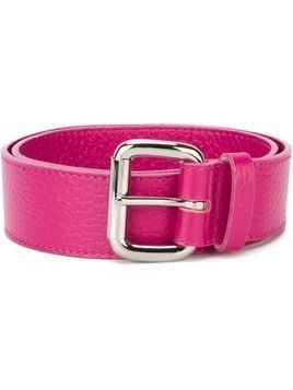 Orciani square buckle belt - Pink & Purple