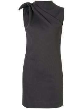 Maticevski Posie gathered neckline dress - Grey