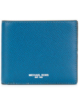 Michael Kors Collection logo print wallet - Blue