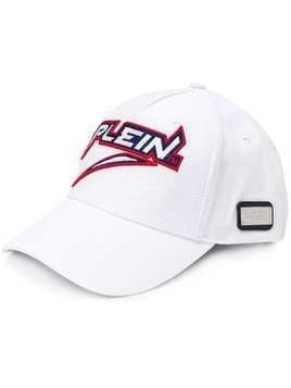 Philipp Plein graphic logo baseball cap - White