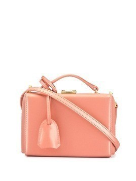 Mark Cross mini Grace box bag - Pink