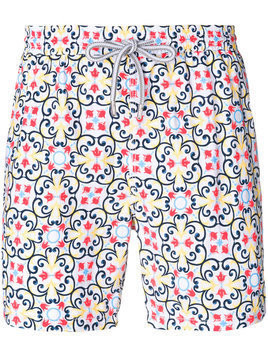 Capricode printed swim shorts - Multicolour