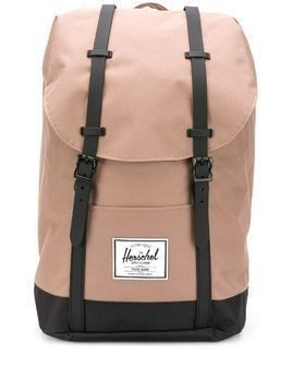 Herschel Supply Co. Retreat contrasting strap backpack - NEUTRALS