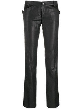 Balenciaga Pre-Owned 2000's panelled straight trousers - Black