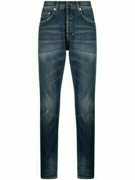 Prps mid-rise straight jeans - Blue