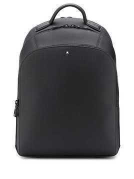 Montblanc textured backpack - Black