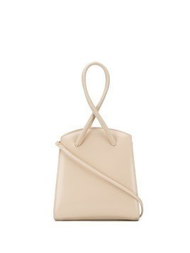 Little Liffner cross strap tote bag - NEUTRALS