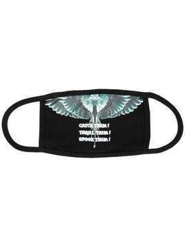 Marcelo Burlon County Of Milan catch them wings mask - Black